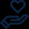 Values icon - Empathy - option 1